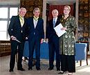 Медаль Королевского Патриотического Общества для Орифлэйм