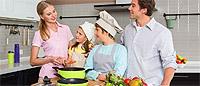 Кампания по приглашению в Орифлейм. Рецепт семейного счастья